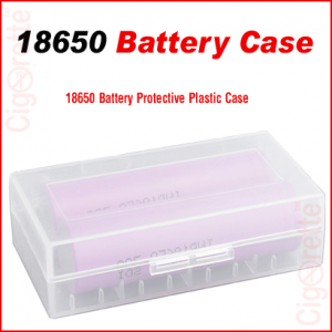 18650 battery storage case
