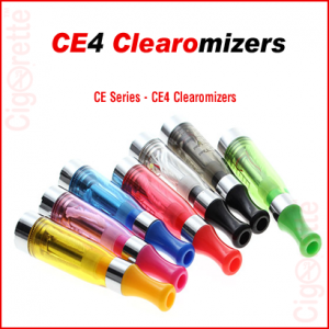 A 510 threaded 1.6ml CE4 Clearomizer which is compatible with all types of fixed and variable voltage batteries.