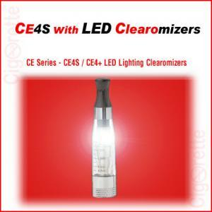 A 510 threaded 1.6ml CE4S Lighting Clearomizer that features a replaceable coil/heating core