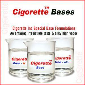 Cigorette special eLiquid Bases - Cigorette Inc - electronic liquids and electronic cigarettes - Canada