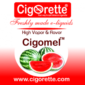 Cigomel e-liquid - Cigorette Inc - electronic cigarettes and liquids Canada