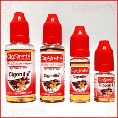 Cigonilla e-liquid - Mexican Vanilla vaping ejuice