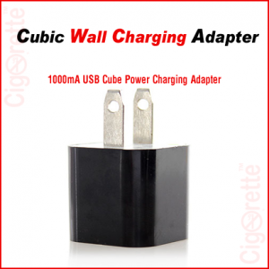 USB to AC cubic charging adapter.