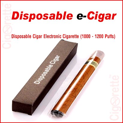 A fashionable style disposable e-cigar