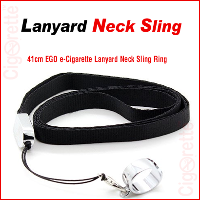 An eGo style lanyard neck sling ring