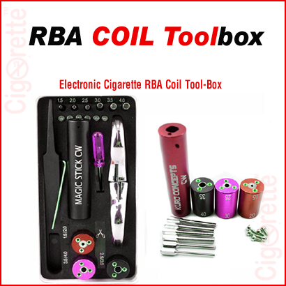 6 in 1 RBA coil toolbox for rebuildable atomizers