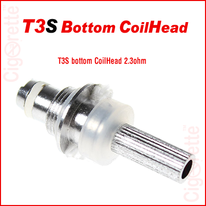 T3S bottom coil head / heating core for e-Cig T3S clearomizers