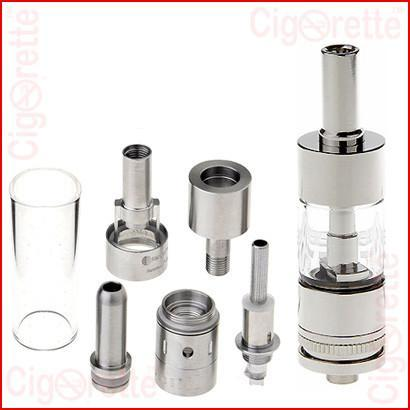 A 510 threaded air-flow control AeroTank Clearomizer of 2.5 ml tank volume and 2.0 ohm coil resistance