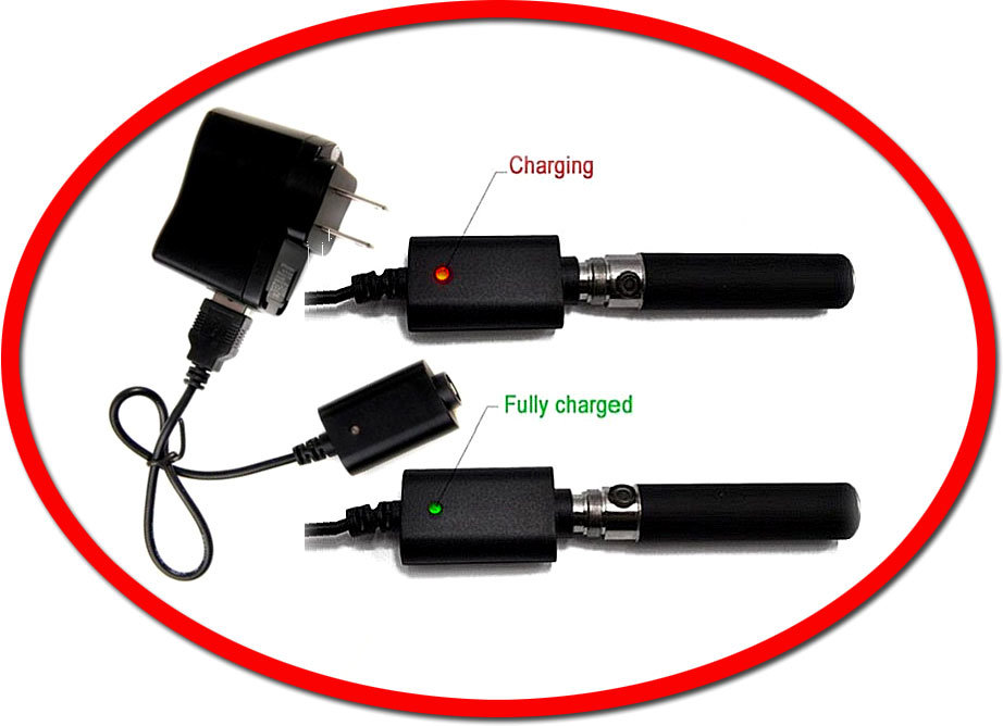 Time needed to charge an e-cig battery - Cigorette Inc Canada