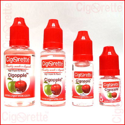 cigopple e-liquid - double apple vaping ejuice