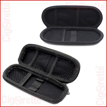 An e-cig carrying zipper case.