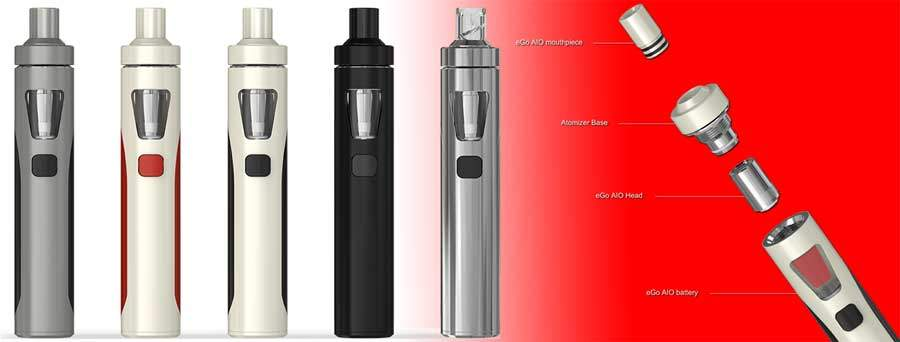 eGo AIO - all-in-one style - Cigorette Inc - electronic cigarettes and Liquids Canada