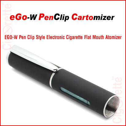 510 threaded 1.8ml 2.8ohm EGo-W pen clip visible cartomizer