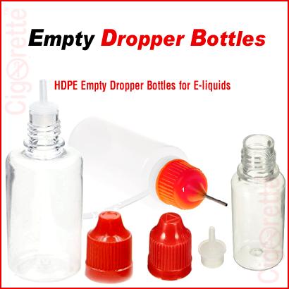 E-liquid Dropper Bottles