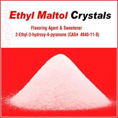 Ethyl Maltol Crystals (CAS#4940-11-8) - Cigorette Inc - Electronic Liquids and Electronic Cigarette - Canada