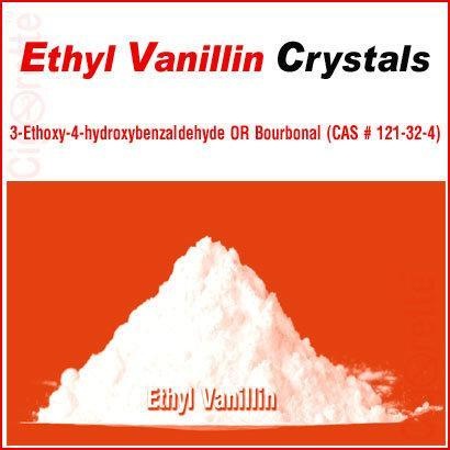 Ethyl Vanillin Crystals (CAS # 121-32-4) - Cigorette Inc - Electronic Cigarettes and Liquids - Canada