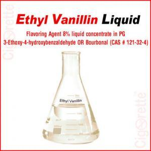 Ethyl Vanillin liquid (8% EV-PG Formulation) - Cigorette Inc - e-cigarettes and e-Liquids - Canada