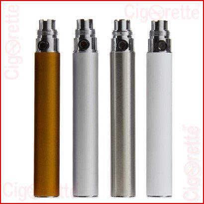 A 1300mAh Fixed-V eGo style rechargeable battery