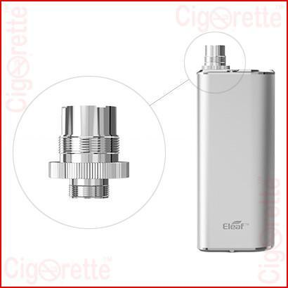 An advanced VV/VW personal vaporizer of a 2200mAh capacity, compact palm-held size, and fashionable metallic appearance
