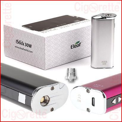 An advanced VV/VW personal vaporizer of a 5-30Watt range, 2200mAh capacity, compact palm-held size, and fashionable metallic appearance
