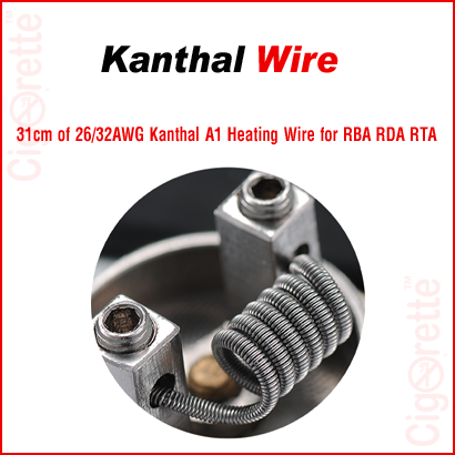 Authentic UD Kanthal A1 clapton wire