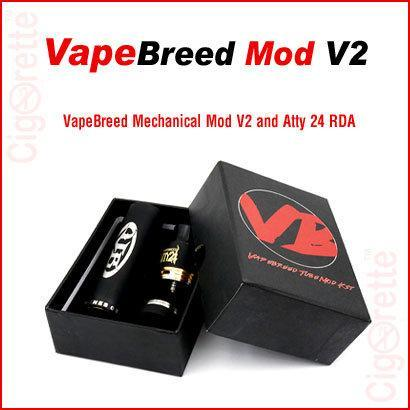 VapeBreed V2 Mechanical MOD - Cigorette Inc - Electronic Cigarettes and Liquids - Canada