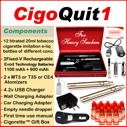 CigoQuit1 from Cigorette Inc is for heavy smokers