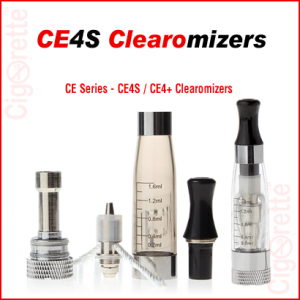 510 threaded 1.6ml CE4S Clearomizers are compatible with all types of fixed and variable voltage batteries.