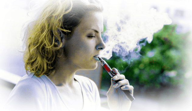 What is vaping - e-cigarette on prescription