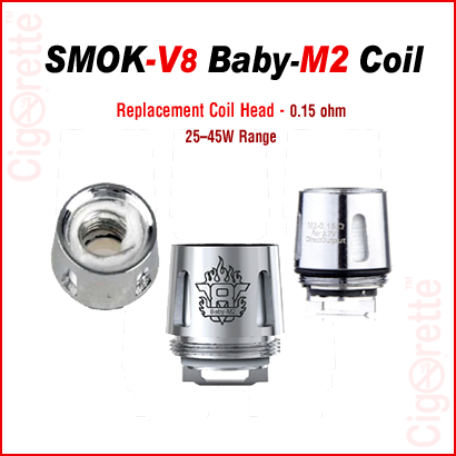 Smok V8 Baby M2 REPLACEMENT COIL 0.3 ohm